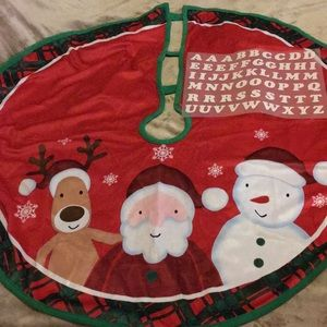 Avon Happy Jolly Merry Tree Skirt